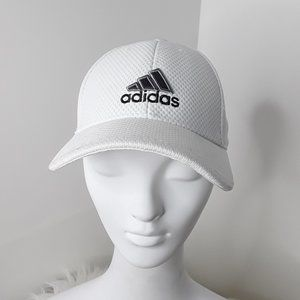 ADIDAS UNISEX WHT ORIGINALS RELAXED STRAP-BACK HAT